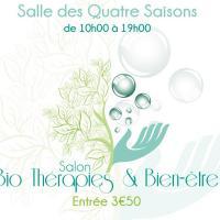 Retrouvez nous ce week-end au Salon Bio thérapies et bien-être